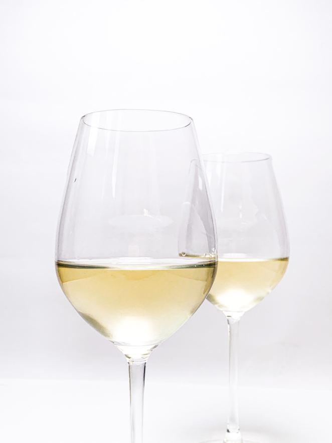 Copa de vino blanco Chardonnay