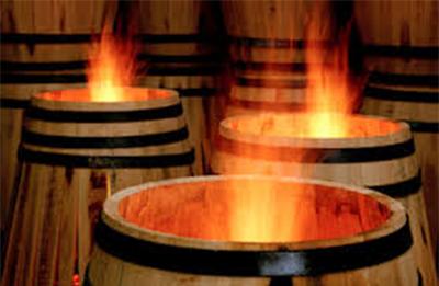 El proceso de tostado de barricas