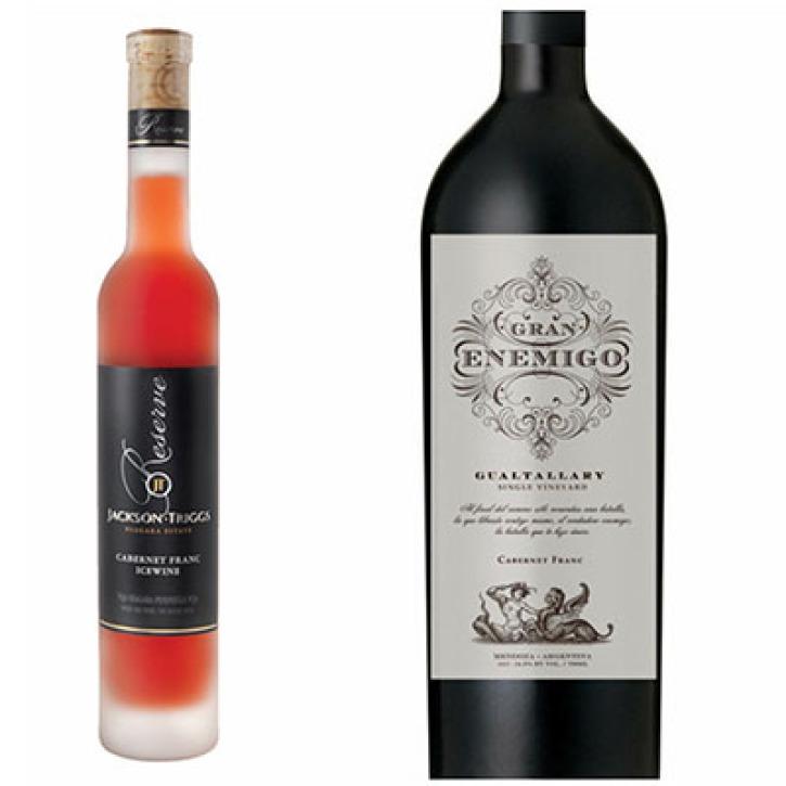 Vinos varietales de Cabernet Franc