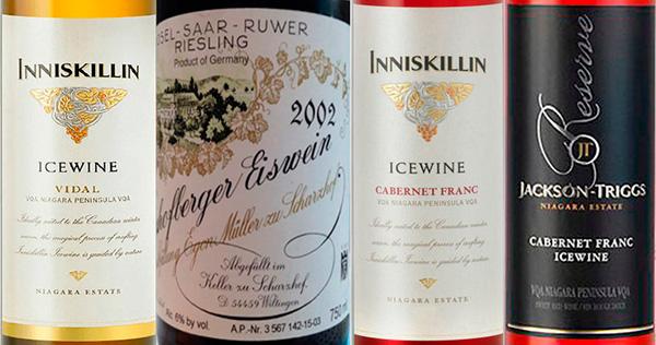 Icewine o vinos de hielo