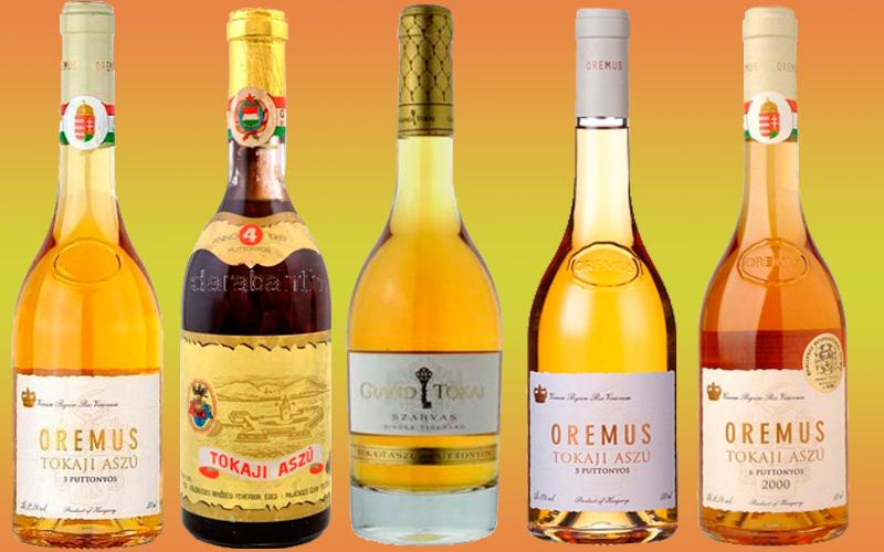 Vinos dulces Tokaji